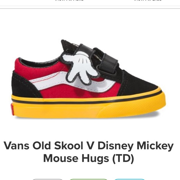 Mickey Mouse 9 Birthday Toddler Vans